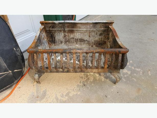 Iron Fireplace Grate