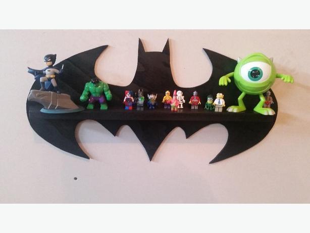 Classic Batman Lego Shelf