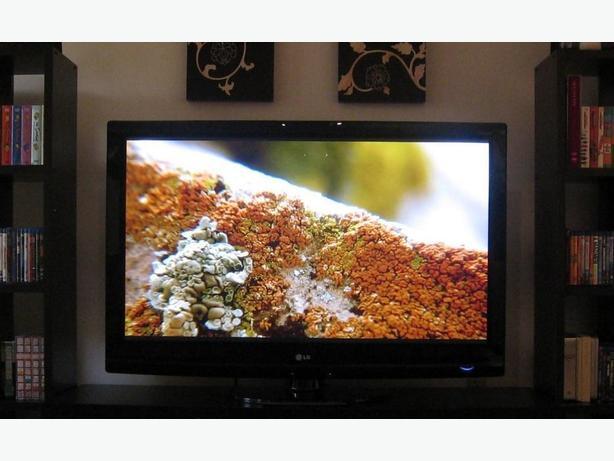 "42"" LG Plasma TV with remote"