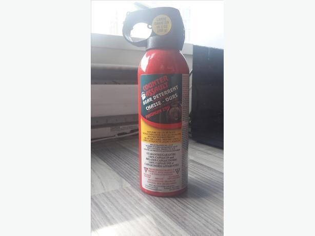 NEW Bear spray