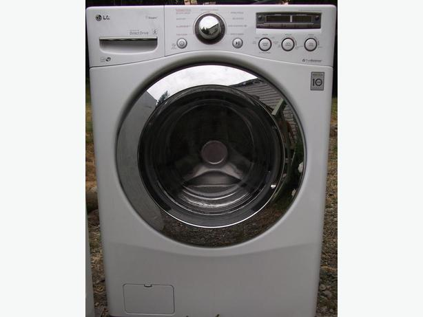 LG Front Loader Washer Kenmore Elite Dryer