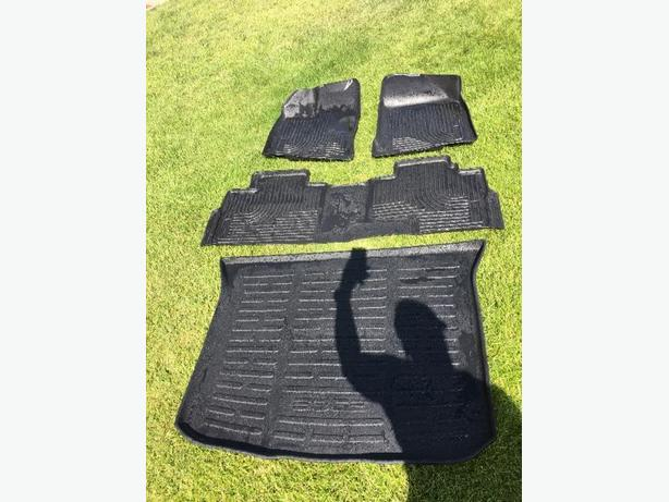 2010-2014 Ford edge all weather floor mats