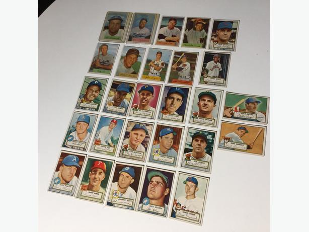 1951 and 1953 BASEBALL Cards