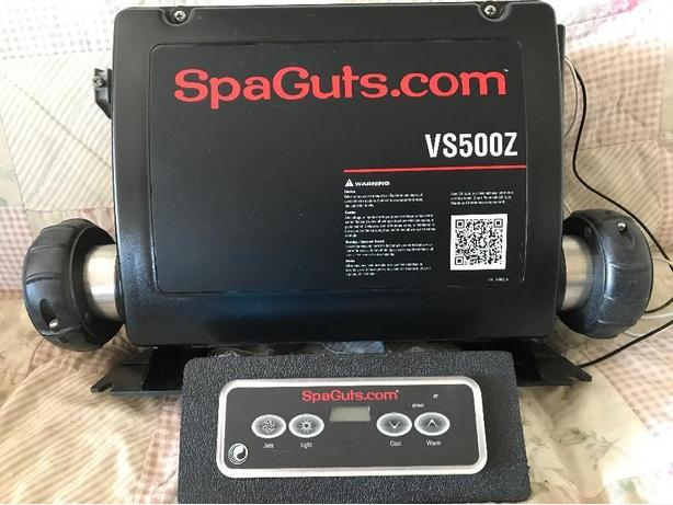 spa pack with control unit