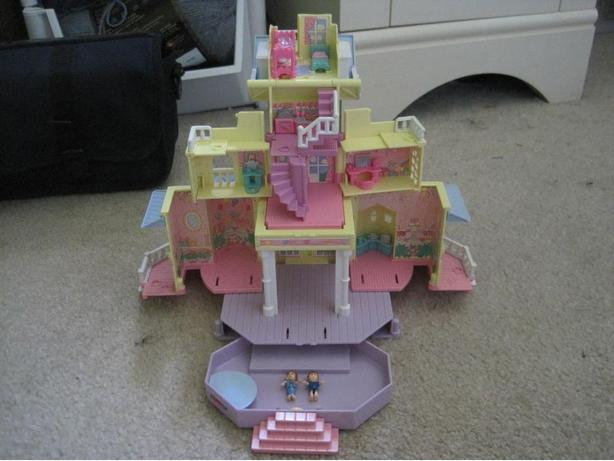 Polly Pocket Dream Builders Mansion and Club House