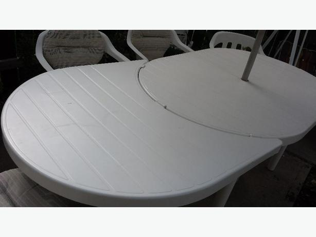 expandable patio table