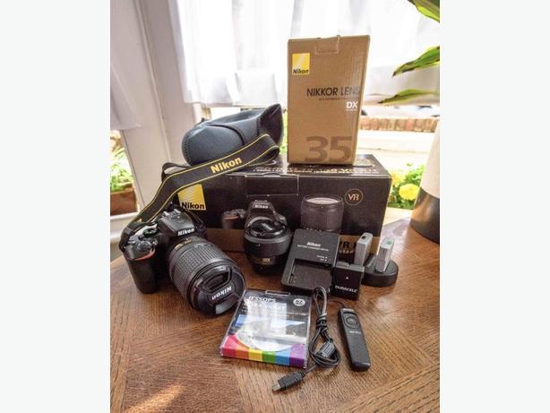 Nikon D5500 with Nikon F/3.5-5.6 18-140mm