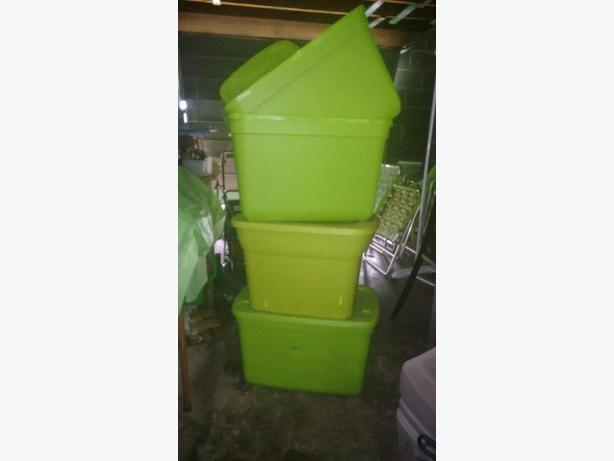 Used Storage Tubs