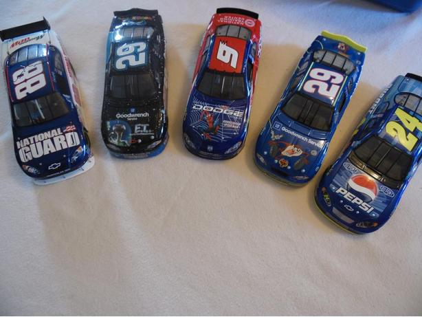 24 Scale Nascars - 5 available for $20 each