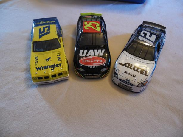 24 Scale Nascars - 3 available for $15 each
