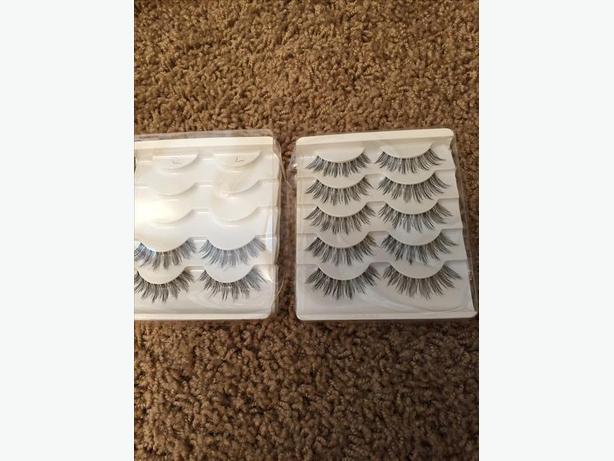 7 pairs of eyelashes