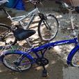 girls foldup bike