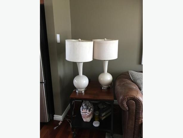 Set of Beautiful Lamps