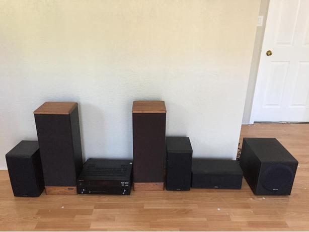 Complete 5.1 home audio system