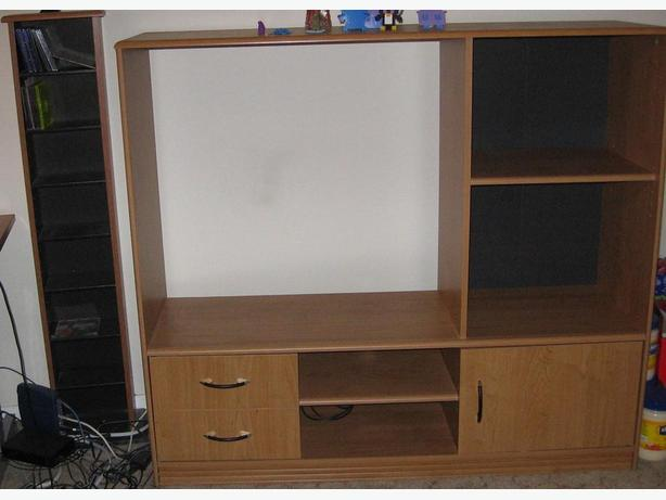 Free Entertainment Center and Stand for disks
