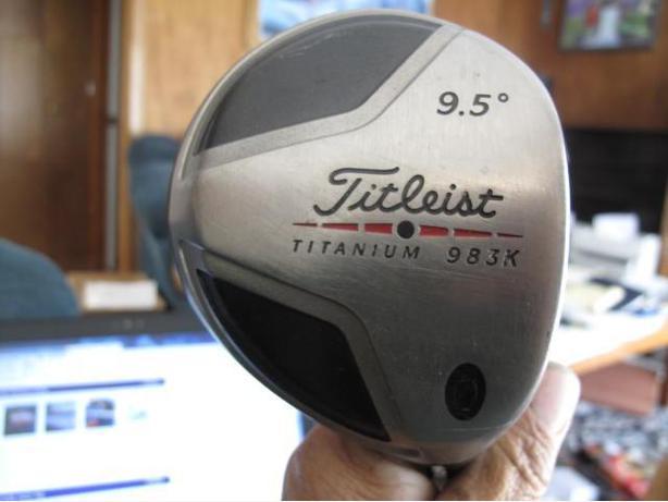 TITLEIST 983K DRIVER STIFF SHAFT RIGHT HANDED