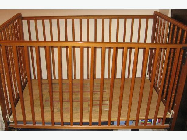 Free Solid Wood Baby Crib