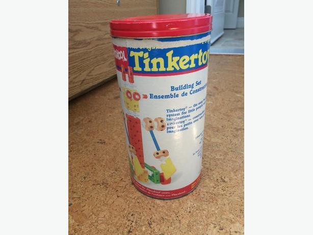 1980's Tinker Toys Set