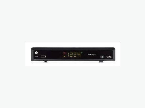 Shaw Direct HD PVR 630 tuner and video recorder