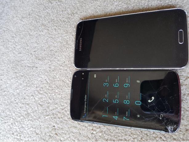 parts phones or for repair S5 and NEXUS