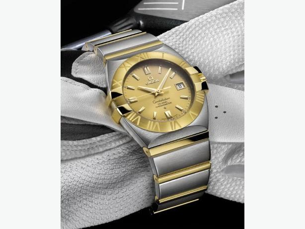 Omega Double Eagle Constellation Coaxial Full Size (mens)
