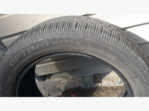 Hankook 225 50 R17  M+S tire
