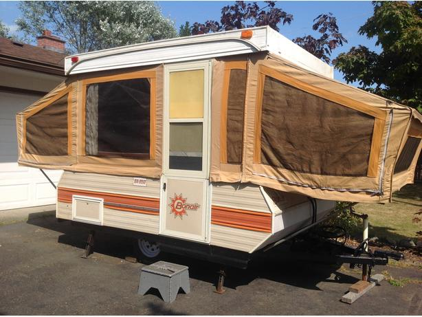 1984 Bonair Tent trailer