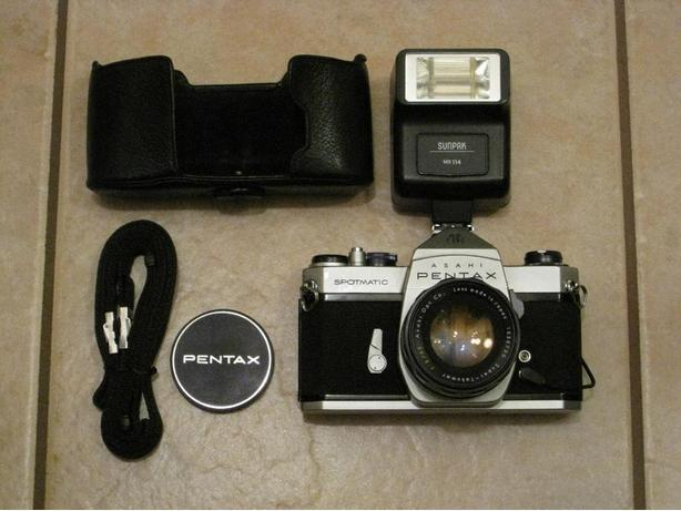 One Classic Pentax Spotmatic SP Camera - Ready to Go