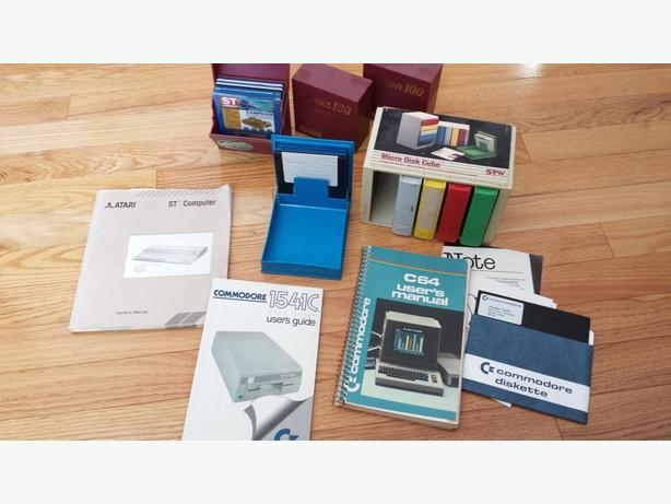 Atari St & Commodore 64 Computer Stuff