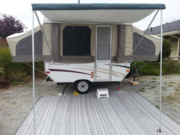 2006 Starcraft 1700 Tent Trailer