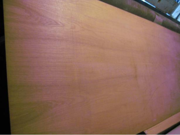 mahogany plywood in very good condition 36x96x1/4 thick