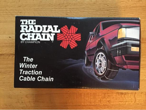Never too early for winter - brand new set of tire chains