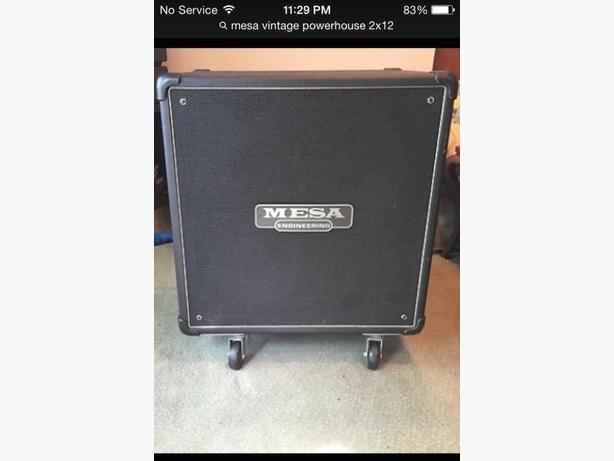 mesa 2x12 bass cab 600w