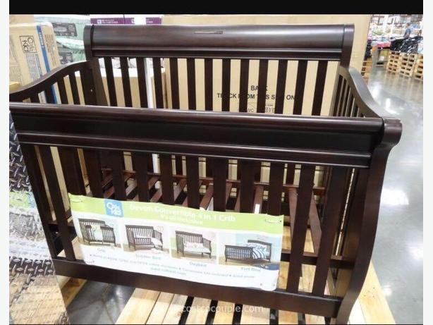 4-in-1 crib / bed