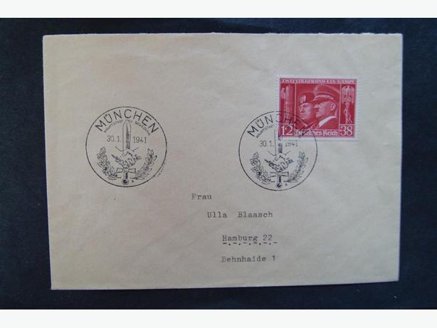 1942 NAZI GERMANY ENVELOPE