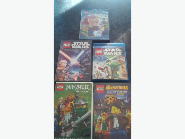 Set of Five LEGO movies