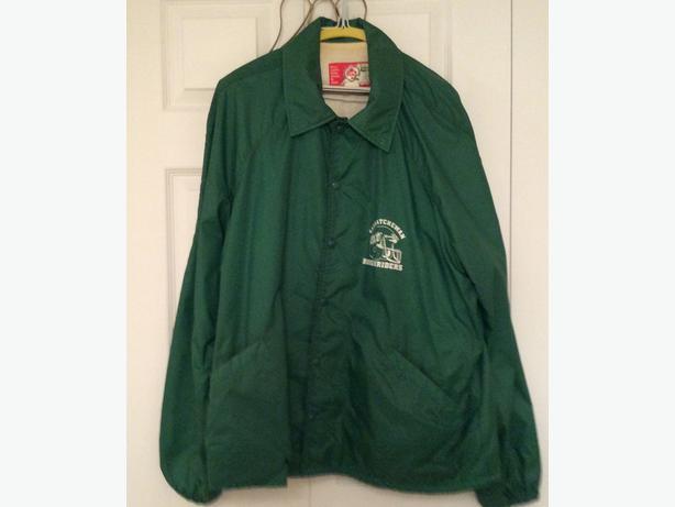 Retro Saskatchewan Roughriders Jacket