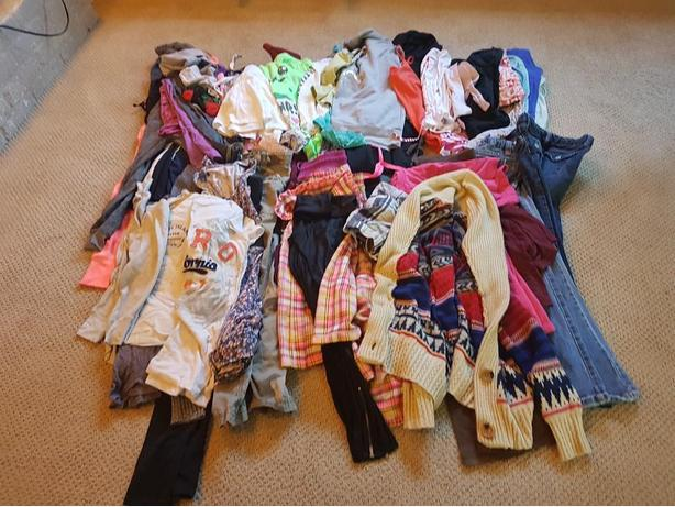 Huge lot of girls clothing size 10-12