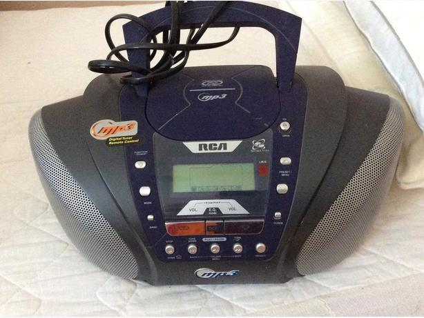 RCA MP3 CD player
