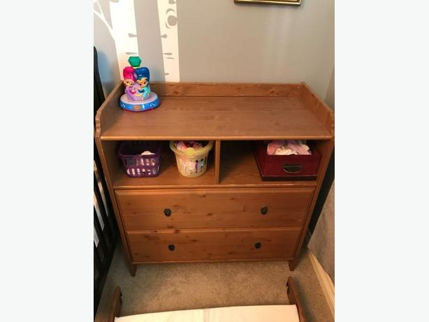 ikea dresser/change table