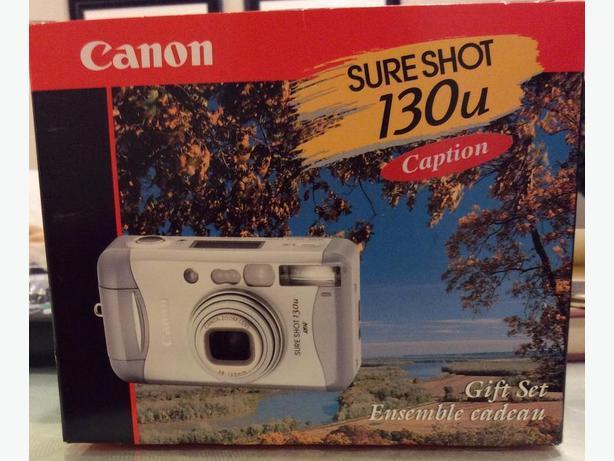 Canon SureShot 130 U Camera