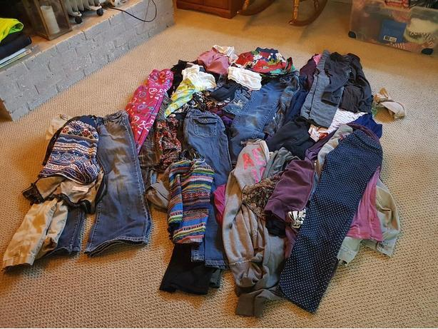 Huge lot of girls clothing size 12-14