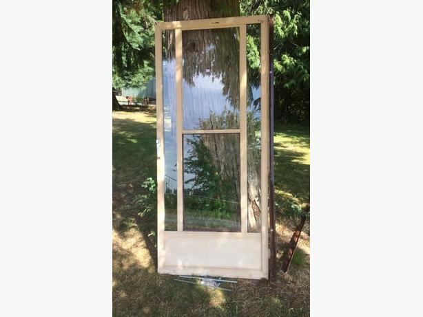 FREE: SOLID GLASS DOOR
