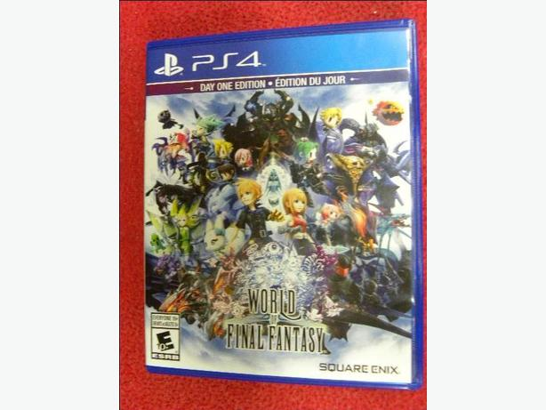 World of Final Fantasy Day One Edition for PS4