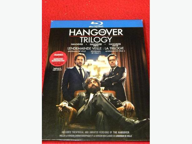 The Hangover Trilogy on Bluray