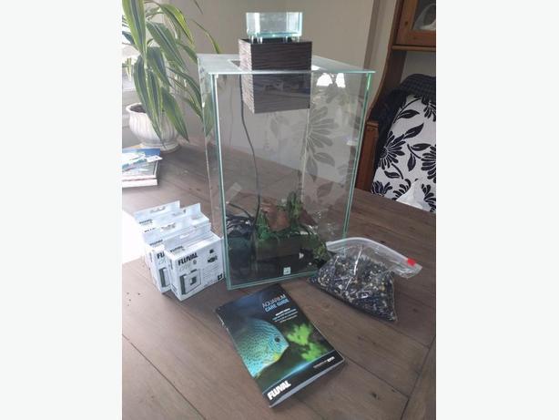 Fish Tank Aquarium with accessories
