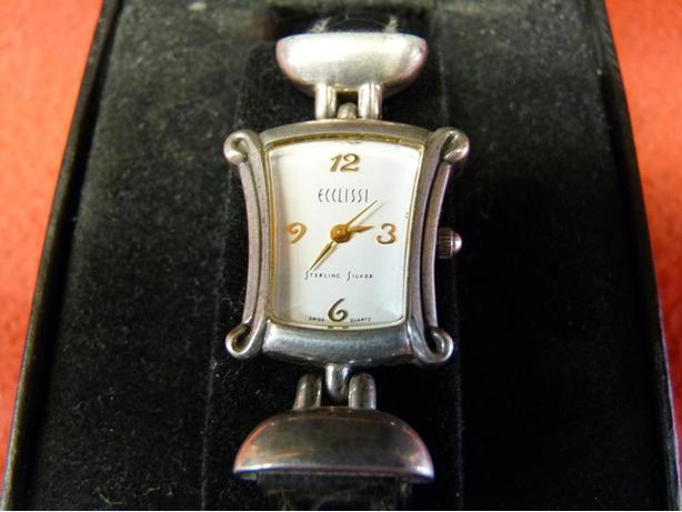 Ladies Sterling Silver quartz watch
