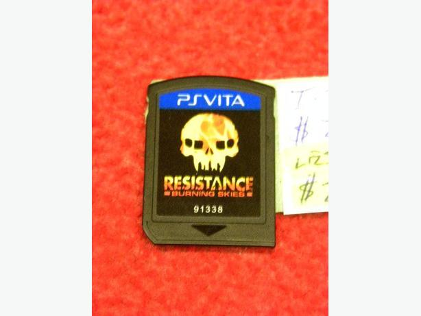 Resistance Burning Skies for the |PS Vita console
