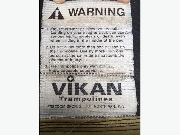 Vikan Trampoline Canadian Made