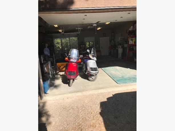 Two Honda Elite 150 cc Scooters